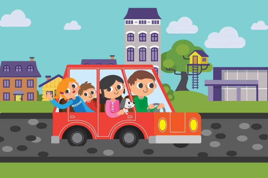 Kicsik a kocsiban! - a gyerekkel való utazás kihívásai és veszélyei